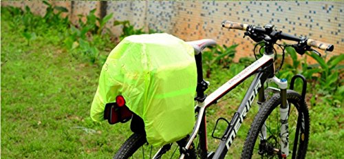 Panniers Dreibettzimmer abnehmbaren Wasserdicht Fahrrad 60Liter + Tasche Hi-Vis 3592