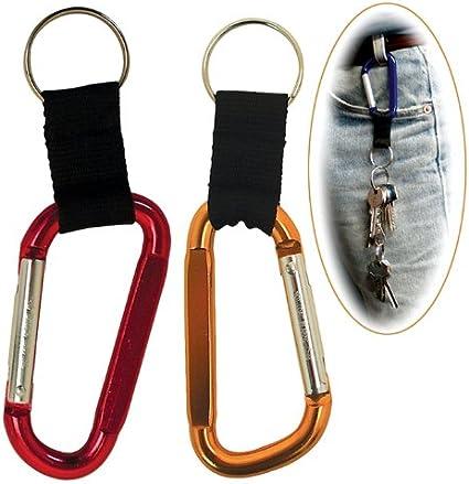 Schlüsselband mit Schlüsselring und Karabinerhaken