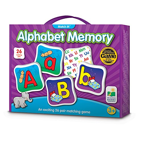 Learning Journey Match Memory Alphabet