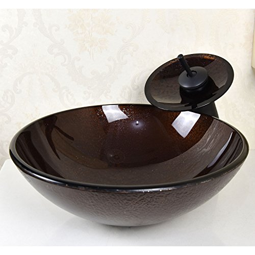 waterfall faucet and bowl - 4