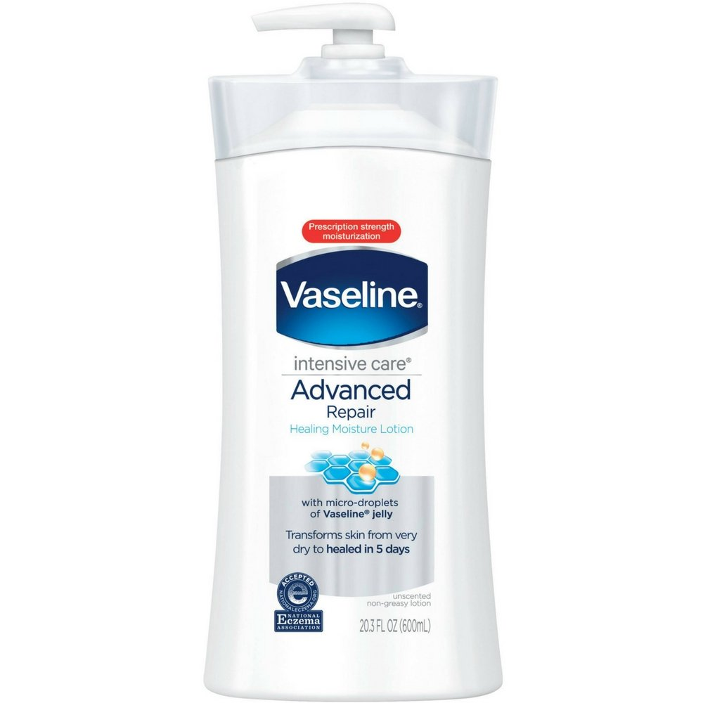 Vaseline Intensive Care Advanced Repair Unscented Healing Moisture Lotion, 20.3 oz (Pack of 5) by Vaseline