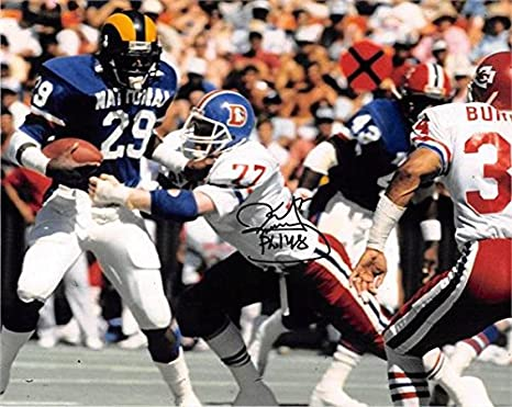 finest selection b30e1 d3f3f Karl Mecklenburg autographed 8x10 Photo (Denver Broncos ...