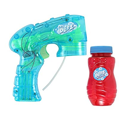 Blitz Light Up Bubble Blaster (Colors May Vary): Toys & Games