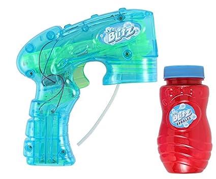 Amazoncom Blitz Light Up Bubble Blaster Colors May Vary Toys