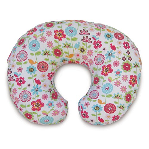 Boppy Nursing Pillow and Positioner, Backyard Blooms (Boppy Pillow Slipcover For Girls)