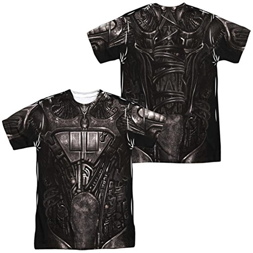 Star Trek Borg Costumes (Star Trek- Borg Costume Tee (Front/Back) T-Shirt Size XL)