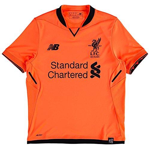 (New Balance Liverpool FC 3RD Junior SS Jersey [Bold Citrus ] (S))