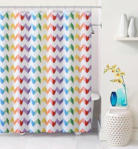 Rainbow Shower Curtain: Amazon.com