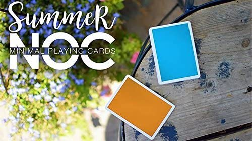 NOC Playing Cards v3 Summer Edition Orange by HOPC