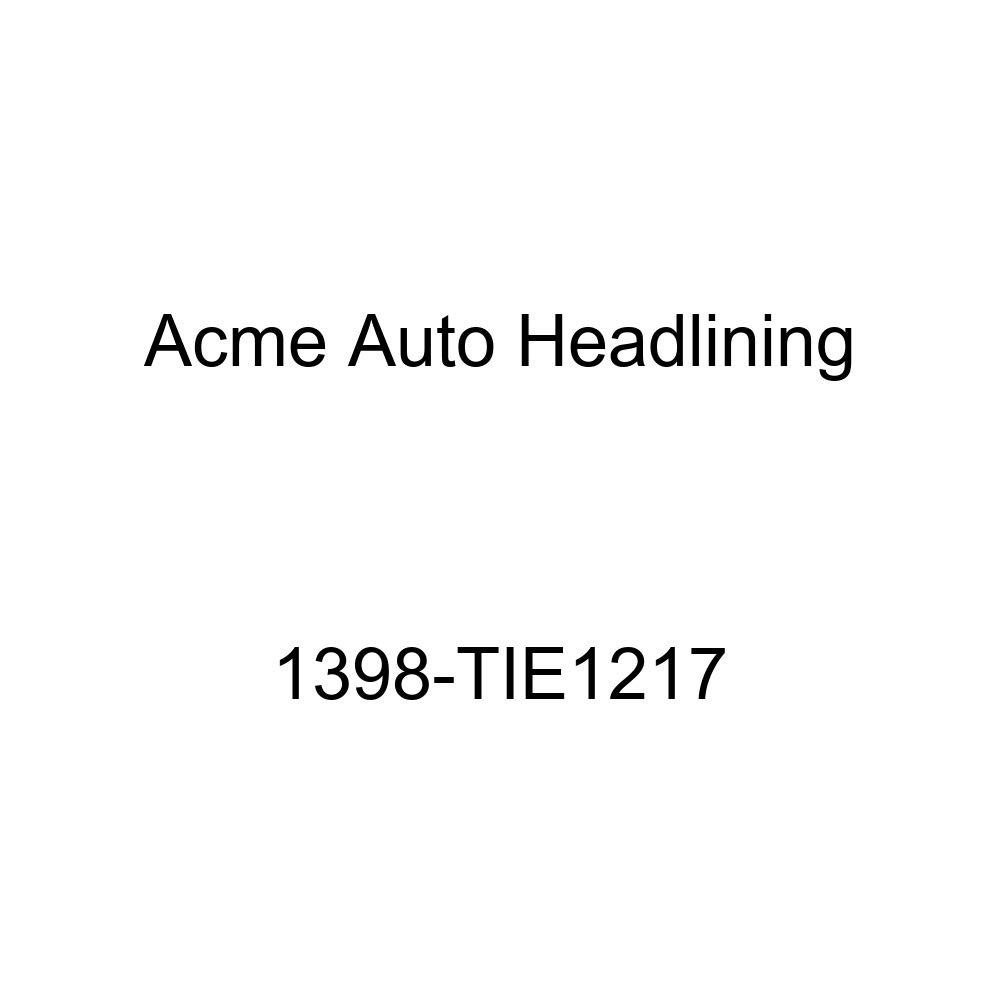 Acme Auto Headlining 1398-TIE1217 Ginger Replacement Headliner 1959-60 Cadillac Series 62 4 Door Hardtop 6 Bows