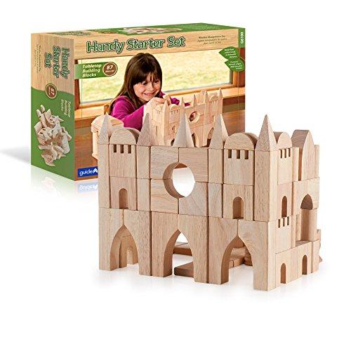 - Guidecraft Tabletop Start Building Blocks Set