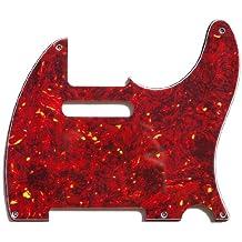 MIJ Pickguard For Fender Telecaster '52 Red Tortoise Shell EMC Noiseless