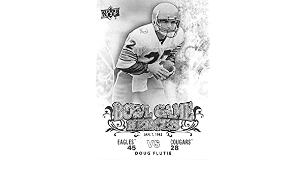 4b8cd1d75 Doug Flutie football card (University of Boston College Eagles BC) 2011  Upper Deck College  BGHDF Bowl Game Heroes Insert at Amazon s Sports  Collectibles ...