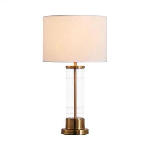 Lámpara de mesa Vidrio Moderno Minimalista Lampara De ...