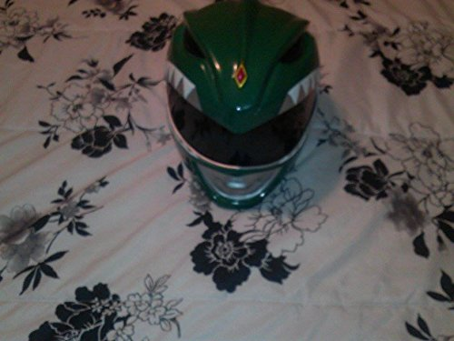 1:1 Wearable Green Mighty Morphin Power Rangers Cosplay Helmet