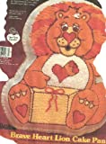 Wilton Brave Heart Lion Cake Pan (2105-3197, 1984) American Greetings