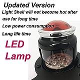Black LED Vertical Side Mount License Plate Bracket Brake Running Rear Tail Light for Harley Bobber Chopper