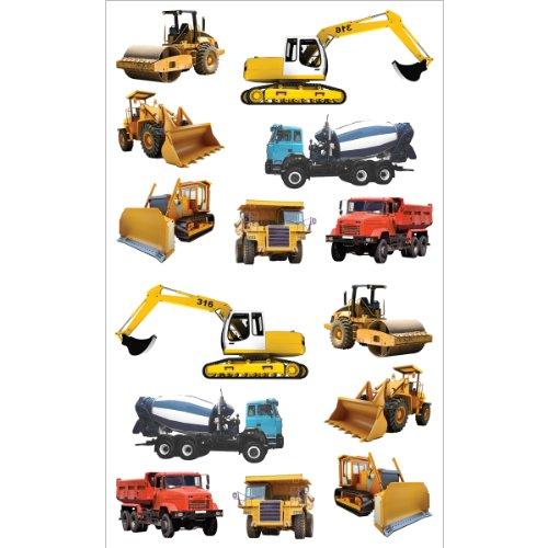 Mrs. Grossman's Stickers-Tractors & Trucks - Mrs Grossmans Sticker Sheet
