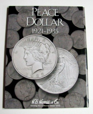 Peace Type Dollar 1921-1935 Cardboard Coin Folder