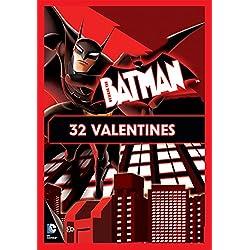 Paper Magic 32CT Showcase Beware the Batman Kids Classroom Valentine Exchange Cards
