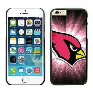 Personalized Design iPhone 6PLUS Phone Case Arizona Cardinals iPhone 6 5.5 Inches Cases 30 Black TPU Protective Case