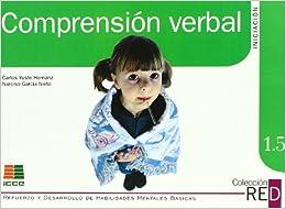 Epub Descargar Comprensión Verbal, Iniciación