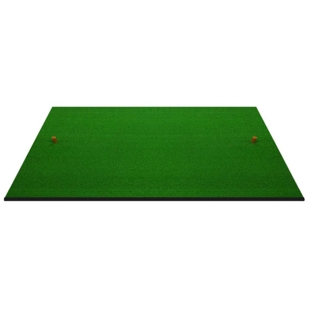 3フィート×5フィートのゴルフ練習用マット、ゴルフ練習場の打撃用マットホルダー、滑り止めラバーベース(サイズ:2cm厚)   B07L88VNPC