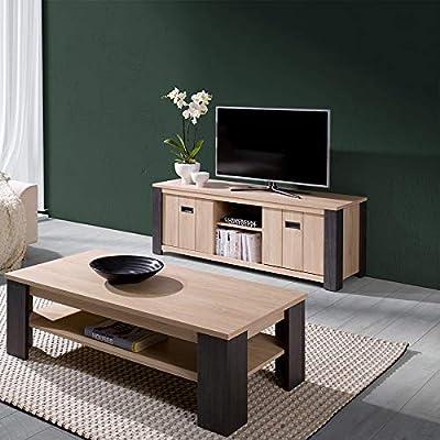 Kasalinea - Mueble para TV (150 cm), diseño contemporáneo, Color Melany: Amazon.es: Hogar