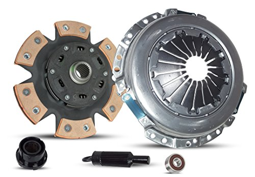 (Clutch Kit Works With Chevrolet Colorado GMC Canyon Isuzu i-290 i-280 Z85 SL SLE Z71 SPORT Z71 BASE WT 2004-2012 2.8L l4 GAS DOHC Naturally Aspirated (6-Puck Clutch Disc Stage 2))