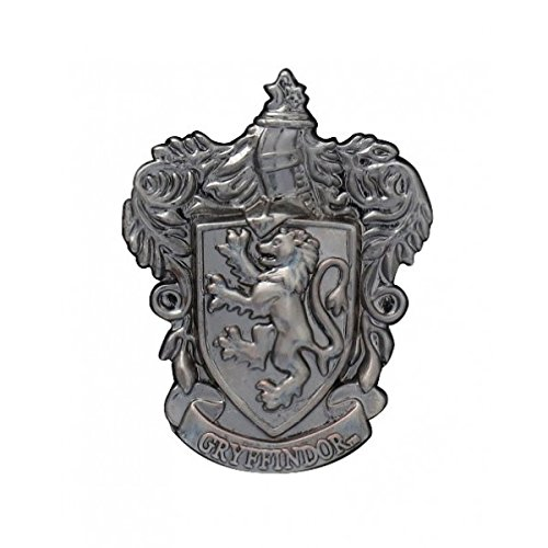 HARRY POTTER Gryffindor School Crest Pewter Lapel Pin ()