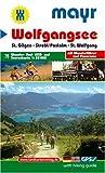 Wolfgangsee: Wander-, Rad-, MTB- und Tourenkarte mit Panorama. GPS-genau. 1:35000