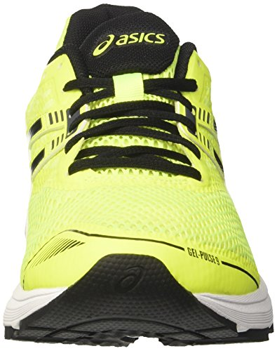 Asics Gel Black Carbon Safety 9 Yellow Giallo Uomo Running Pulse Scarpe rrqv6zTd