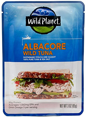 Wild Planet Albacore Tuna (Wild Planet, Wild Albacore Tuna, 3 Ounce)