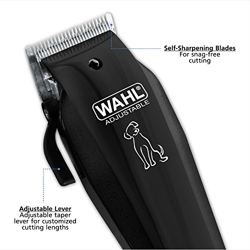 Wahl-DogPet-Clipper-Kit-for-touch-ups-between-professional-groomings-with-superior-fur-feeding-blades-9160-210