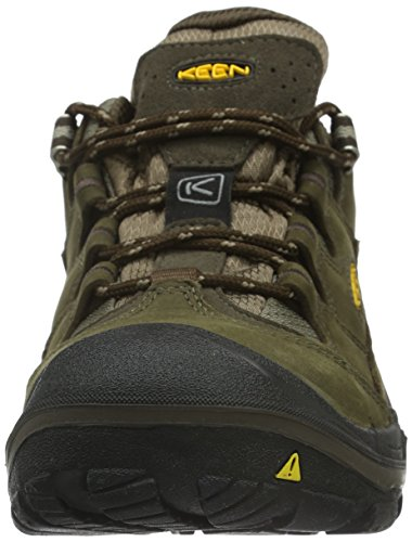 Keen Durand Low Wp - Zapatillas de senderismo Hombre Marrón - Braun (Cascade Brown/Brindle)
