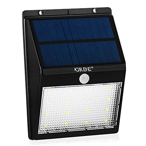 16led Solar Lights Outdoor Waterproof Motion Sensor