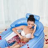 PENSON & CO. Inflatable Bath Tub PVC Portable Adult...