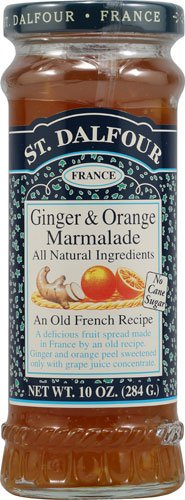St. Dalfour All Natural Marmalade Ginger and Orange -- 10 oz - 2 pc