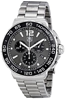 TAG Heuer Men's CAU1115.BA0858 Formula 1 Grey Dial Stainless Steel Watch from TAG Heuer