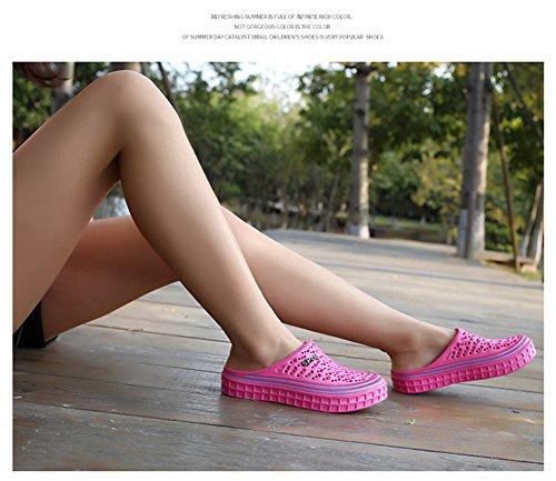 Plage BETY Femmes de Pantoufles Mules à Rose Outdoor Hommes Chaussures Chaussons Clog Sabots Enfiler Sandale Été qTXn1qxr