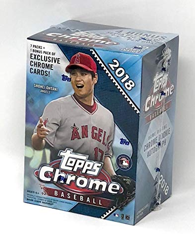 Large Product Image of Topps 2018 Chrome Baseball Mass Value Box (8 Packs/Box)