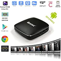 QINTAIX Q39 Android TV BOX RK3399 4GB RAM 32GB ROM 6 Cores Android 6.0 Dual Wifi 4K FHD UHD android media player