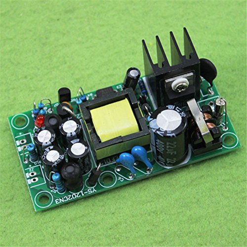 POYINBG 12V 5V Isolated Switching Power Supply/AC-DC Power Supply module/220V to 12v 5v Dual Output