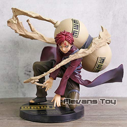 - Grocoto Action & Toy Figures - Anime Naruto Shippuden Sand Hidden Village Gaara 5Th Generation Kazekage GEM PVC Action Figure Collectible Model Toy 1 PCs