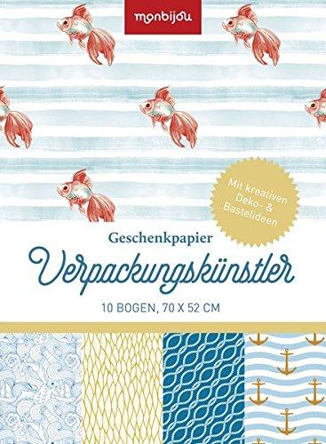 Verpackungskünstler - Design maritim: Geschenkpapier (monbijou)