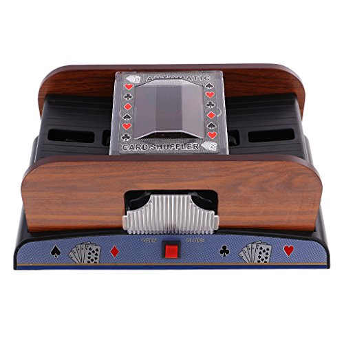 Flameer Automatic Poker Casino 2 Decks Cards Shuffler Sorter For Card Game Players by Flameer