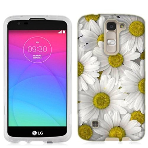 LG K7 Case, Daisy Bouquet Cover for LG K7 (Daisy Usa Bouquet)