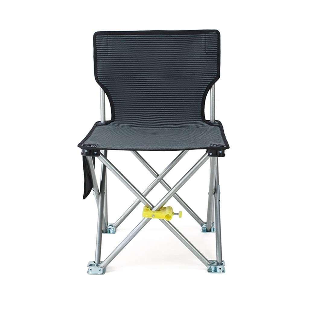 DWJ Folding Fishing Chair, Camping Stool Portable with Storage Bag for Outdoor Beach Camping Barbecue (Color : B) by DWJ