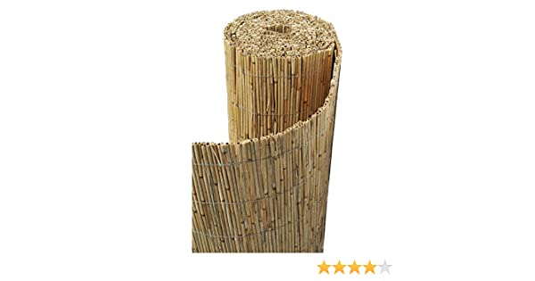 Sodipa - Cañizo de bambú sin pelar: Amazon.es: Jardín