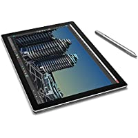 Microsoft Surface PRO-4 256 GB Intel Core i7-6650U X2 2.2GHz 12.3,Silver(Certified Refurbished)